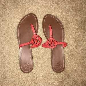 238d3ce22 Tory Burch Miller Patent Logo Reg  195 Sale 150.  M 5949895a4127d09a56042aa8. Other Shoes you may like. Tory Burch Sandals